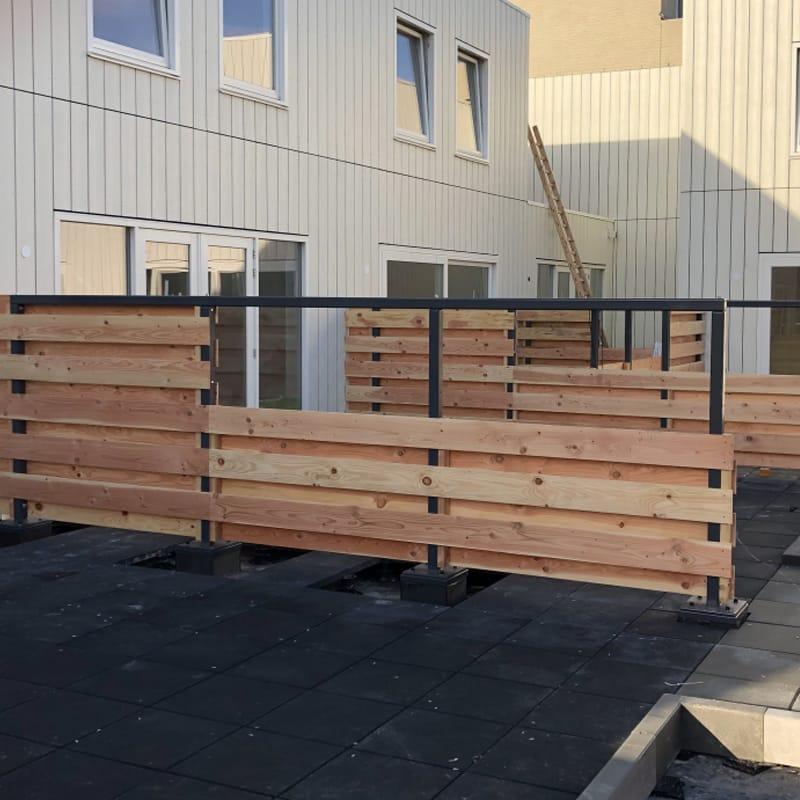carre houten schuttingen