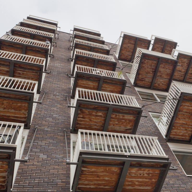 zaanse strip balkonbekleding bilinga